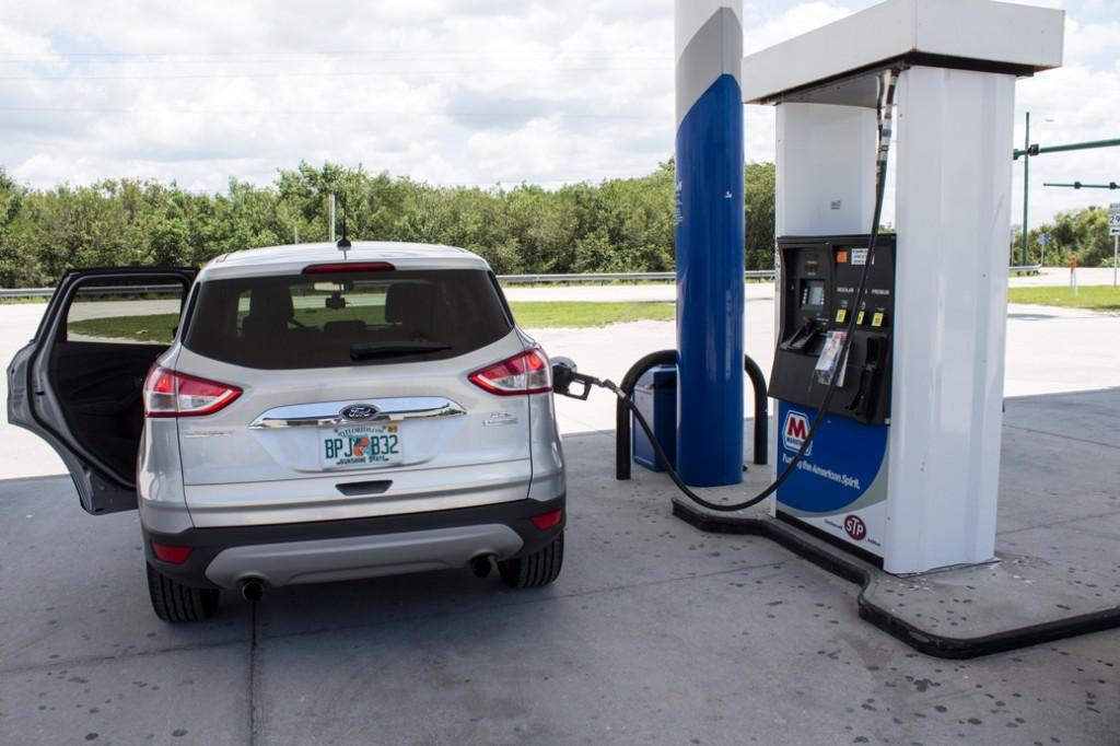 Tankstation i Everglades