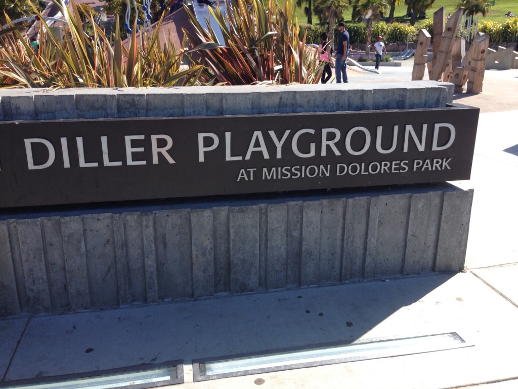 Diller playground - Dolores Park