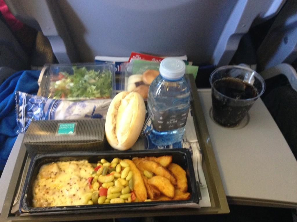 KLM flymad